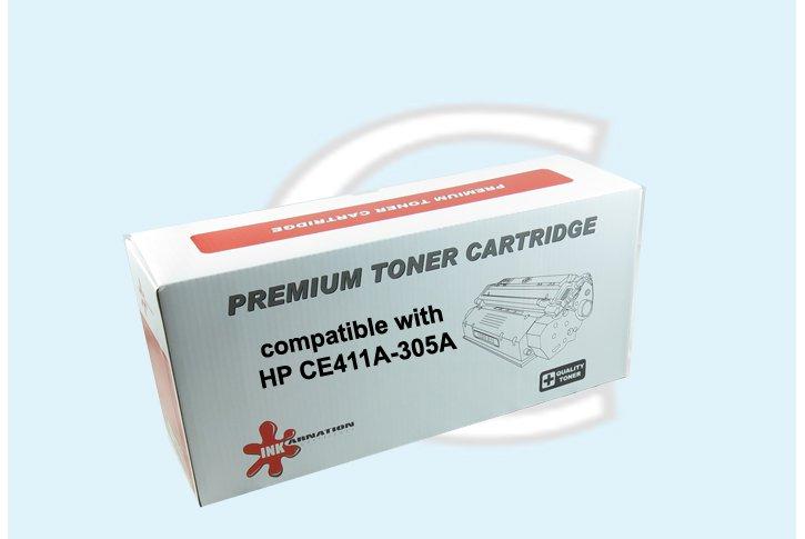 טונר ציאן חליפי (HP 305A(CE411A