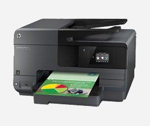 מדפסת משולבת HP Officejet Pro 8610