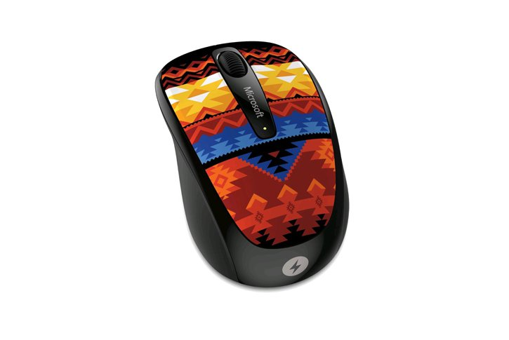 עכבר אלחוטי Microsoft Wireless Mobile Mouse 3500