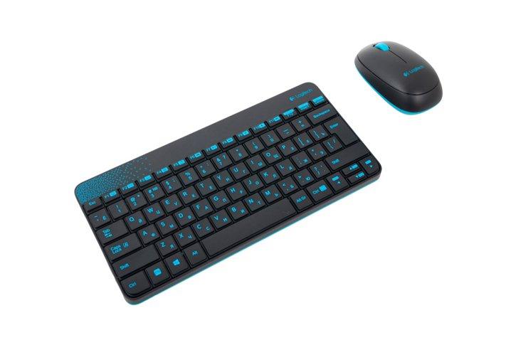 סט אלחוטי מקלדת ועכבר Logitech Wireless Combo MK240