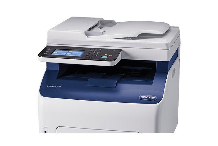 מדפסת לייזר צבעונית משולבת Xerox WorkCentre 6027V_NI
