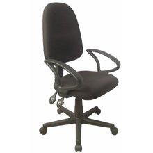 כסא משרדי לילך -ידיות קבועות