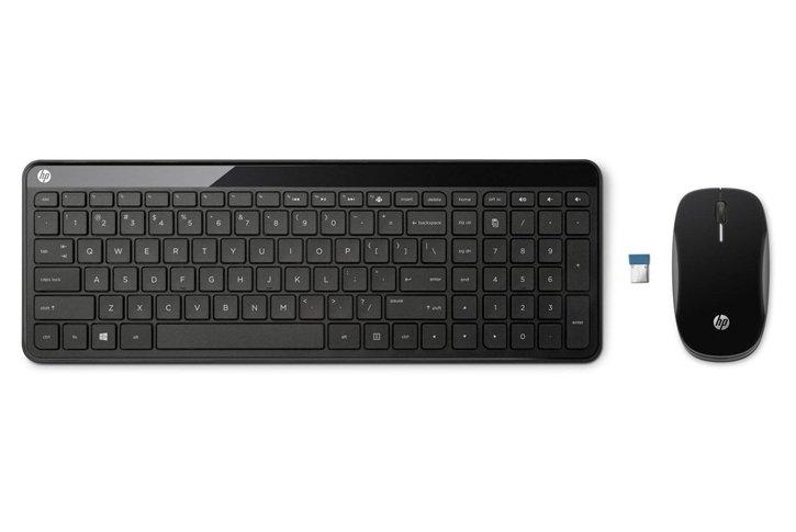 סט אלחוטי (HP C6020 Wireless Desktop (P1F56AA