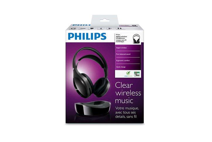 אוזניות אלחוטיות דיגיטליות לטלויזיה Philips SHD8600