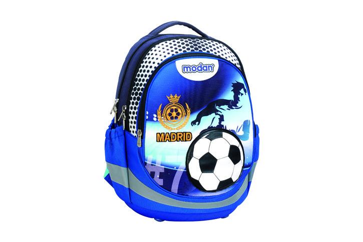 תיק SPRING SYSTEM כדורגל כחול MADRID