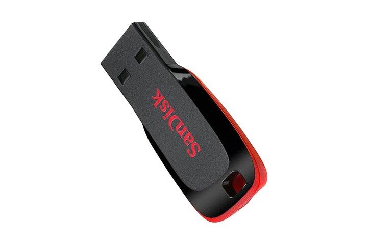 זכרון USB Cruzer® Blade™  Z50 USB הקטן והנייד ביותר