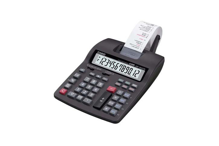 מכונת חישוב Casio HR-150TM